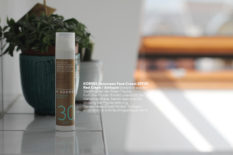 Korres Sunscreen Facecream