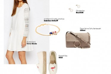 Outfit Sommerdress All White