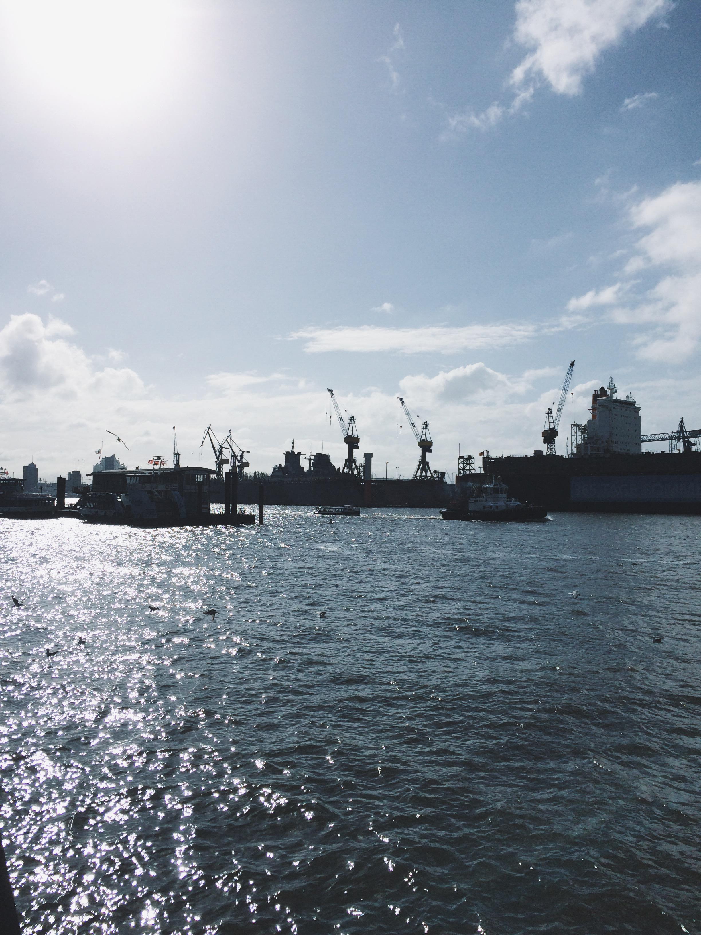 Hamburger Hafen Fischmarkt