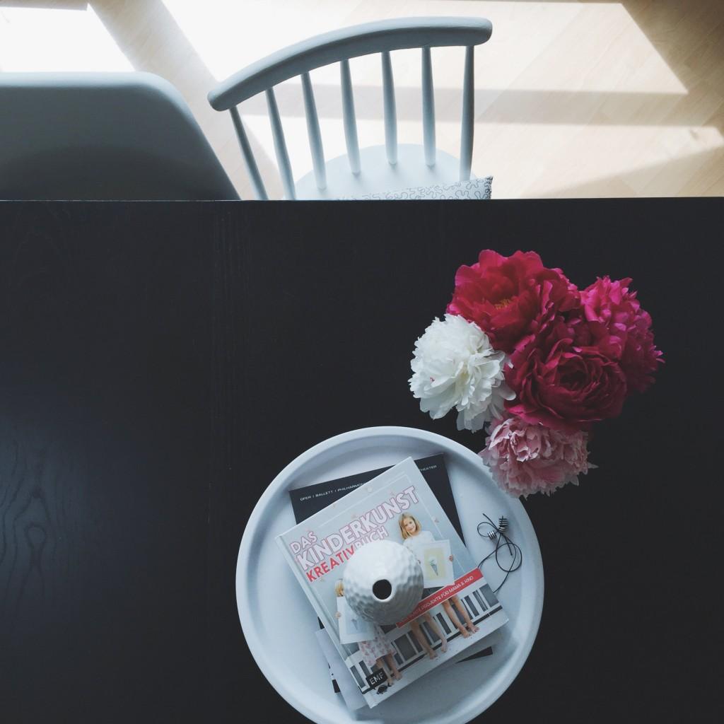 Pfingstrosen lila pink weiß