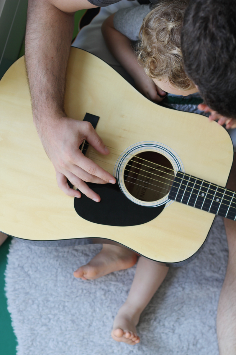 Lieblingsspielzeug Gitarre
