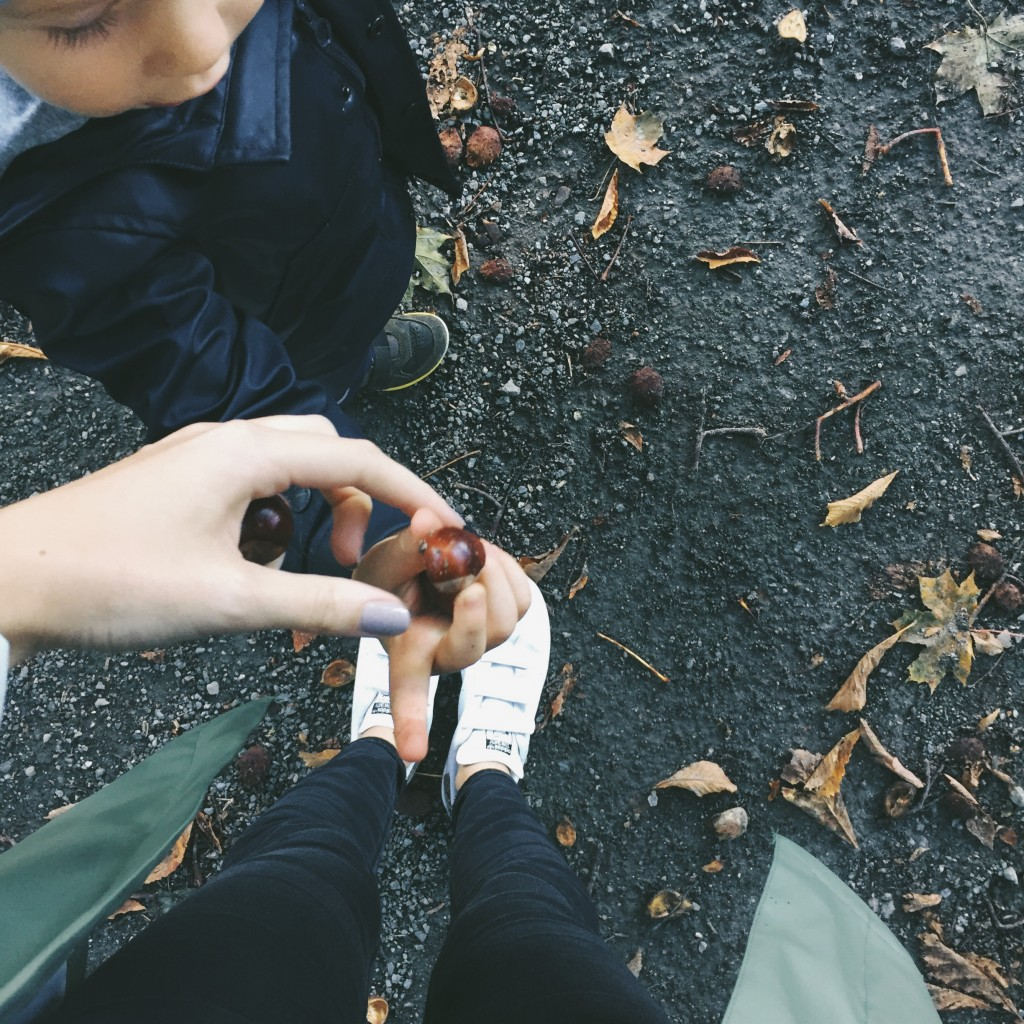 Herbst mit Kleinkindern