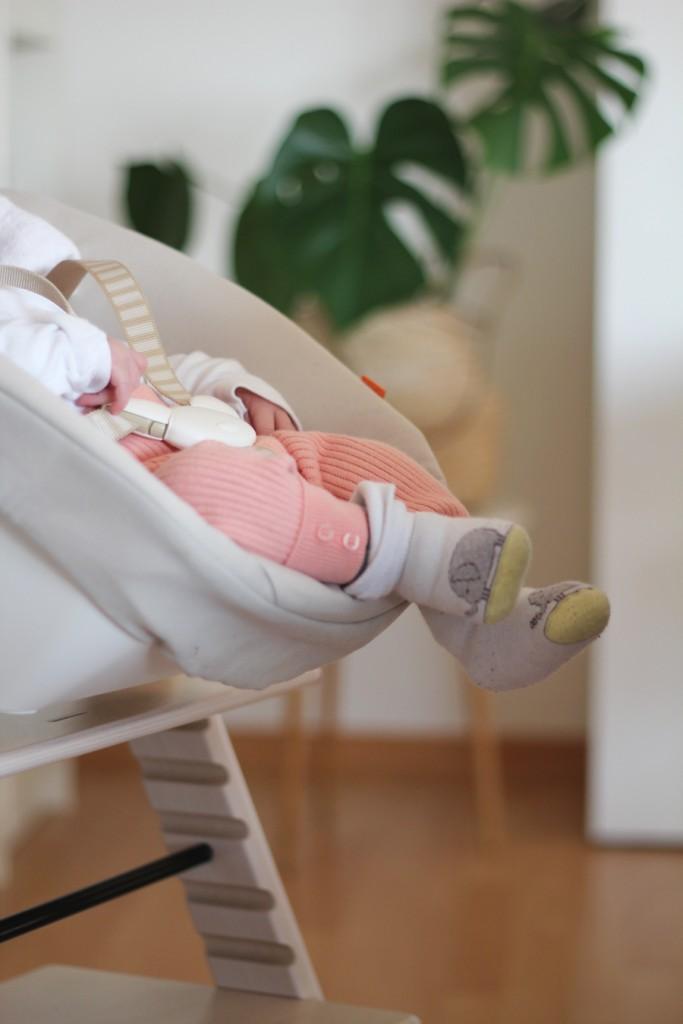 TrippTrapp von Stokke mit Babyschale